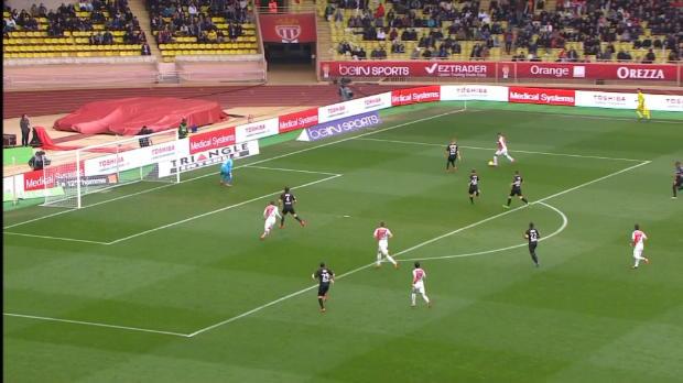 Ligue 1 Round 25: Monaco 1-0 Nice