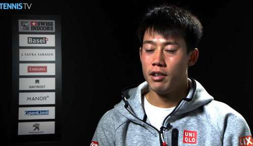 Nishikori Interview: ATP Basel SF