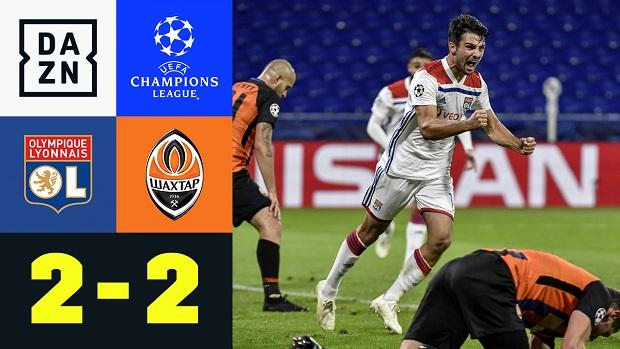 UEFA Champions League: Olympique Lyon - Donezk | DAZN Highlights