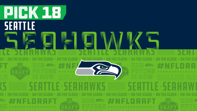 Seahawks pick No. 18 | NFL Mock Draft Live
