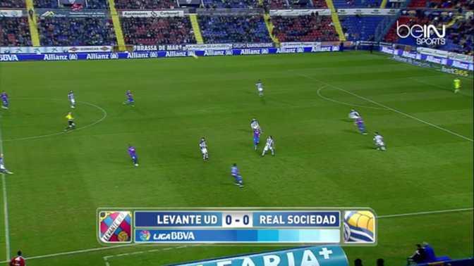 Liga : Levante 1-1 Real Sociedad