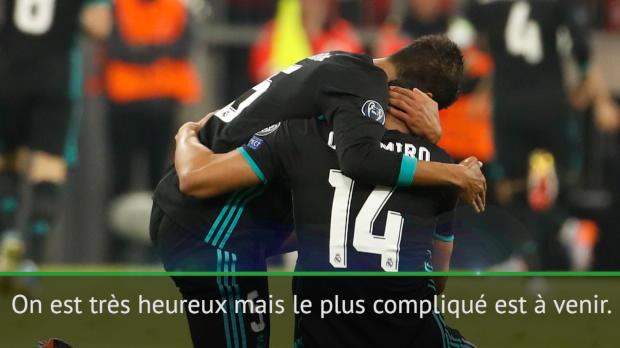 Demies - Casemiro - 'Le match retour va aussi être difficile'