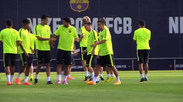 Foot : Liga - Les débuts de Suarez au Camp Nou