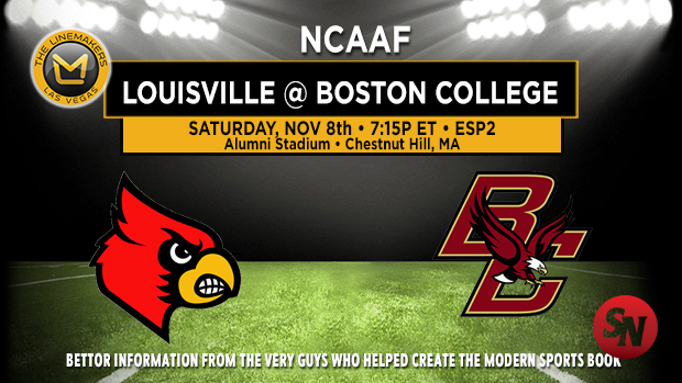 Louisville Cardinals @ Boston College Eagles