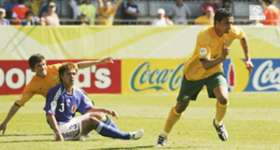 Re-live Tim Cahill's memorable double to sink Japan 3-1 at the 2006 FIFA World Cup.
