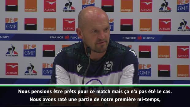 """Rugby : Amical - Townsend - """"La France a très bien joué"""""""