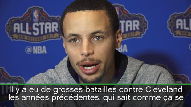 "Basket : NBA - Warriors - Curry - ""Beaucoup de talents actuellement en NBA"""