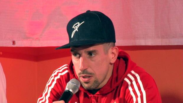 """Ribery: """"Meine Familie ist in München zuhause"""""""