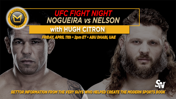 UFC Fight Night Nogueira Vs Nelson