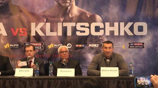 "Boxen: Klitschko vor Joshua: ""Größter Kampf"""