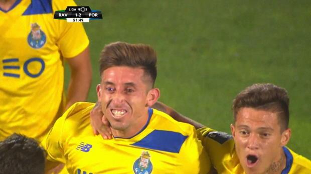 Traumtor, Traumstart - Herrera verzückt Porto