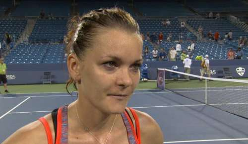 Radwanska Interview: WTA Cincinnati 3R