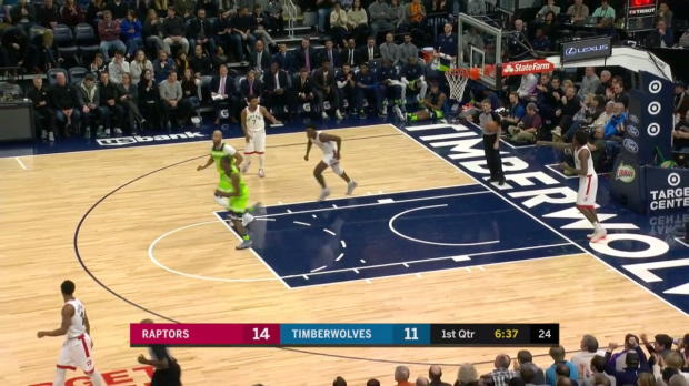 WSC: Karl-Anthony Towns (22 points) Highlights vs. Toronto Raptors