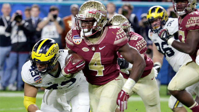 Curtis Conway evaluates Florida State RB Dalvin Cook, compares him to AFC North RB