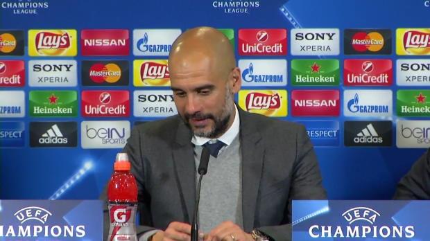 Guardiola: Deshalb saß Müller auf der Bank