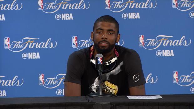 """Basket : NBA - Finales - Irving - """"LeBron, c'est Beethoven !"""""""