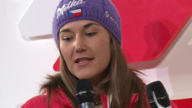 """Strachova: """"Endlich wieder auf dem Podium"""""""
