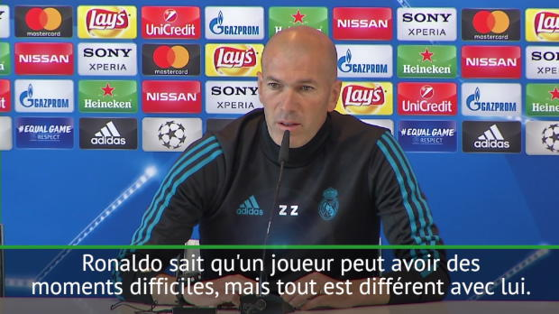 Finale - Zidane - 'Si vous critiques Ronaldo, soyez prudent !'