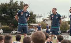 See what happened when two of the boys paid the SKOB Under 7s and Under 8s a little visit, all thanks to AGL.