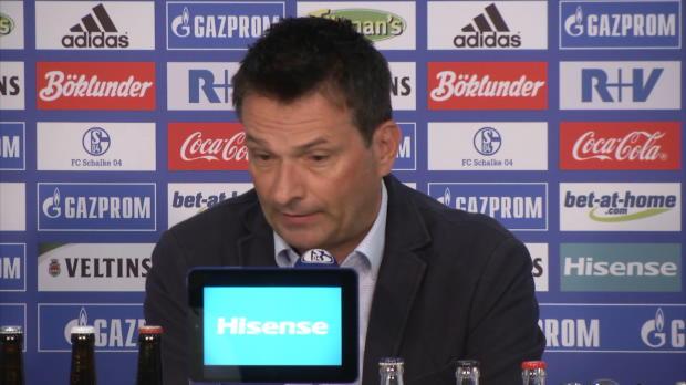 Neuer Schalke-Coach: So lief die Vorstellung