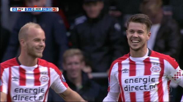 PSV verteidigt Tabellenspitze dank Doppelpack