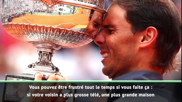 "Tennis : Roland-Garros - Nadal - ""Rattraper Roger ? Je n'y pense pas"""