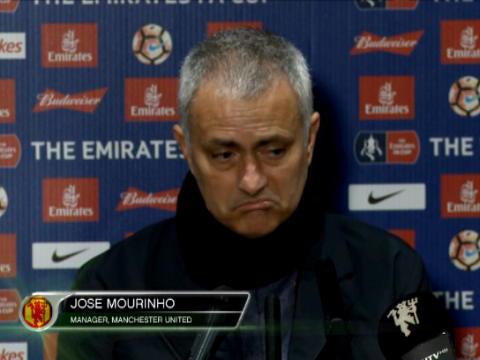 كرة قدم: كأس انكلترا: هناك امكانية للفوز بثلاث بطولات- مورينيو