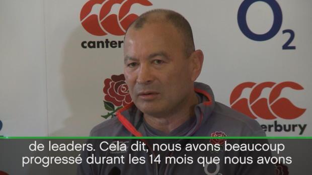 Angleterre - Jones - 'Pas encore assez bons pour gagner un Mondial'