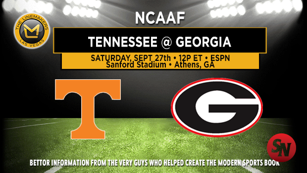 Tennessee Volunteers @ Georgia Bulldogs