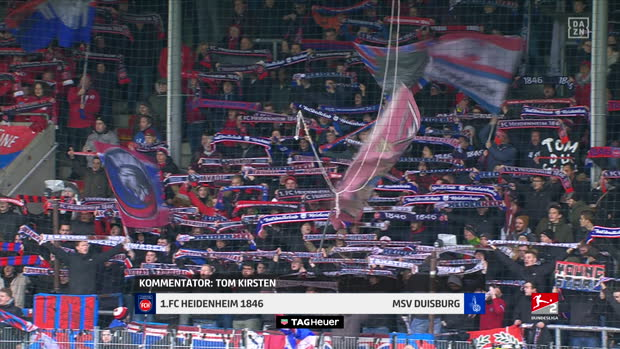 2. Bundesliga: 1. FC Heidenheim 1846 - MSV Duisburg | DAZN Highlights