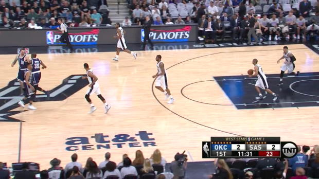 WSC: Kevin Durant (16 points) vs. the Spurs, 4/30/2016