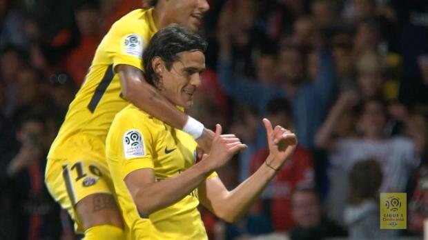 Neymar glänzt mit idealem Assist für Cavani