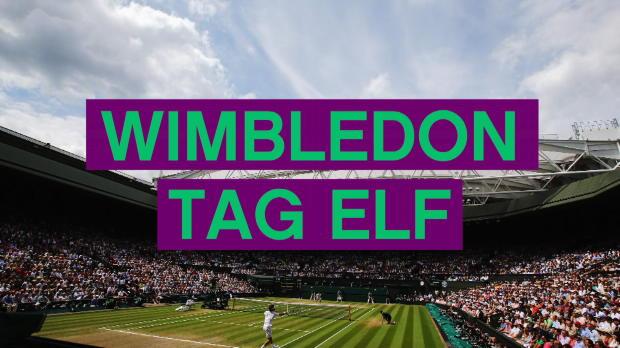 Wimbledon: Wieder im Finale! Federer historisch