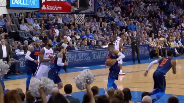 WSC: Russell Westbrook (27 points) Game Highlights vs. Detroit Pistons