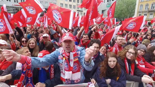Party pur: So feierten Bayern, Barca und Co