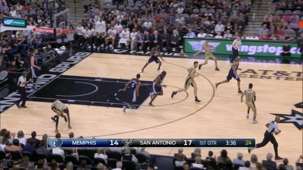 WSC: Highlights: LaMarcus Aldridge (23 points) vs. the Grizzlies