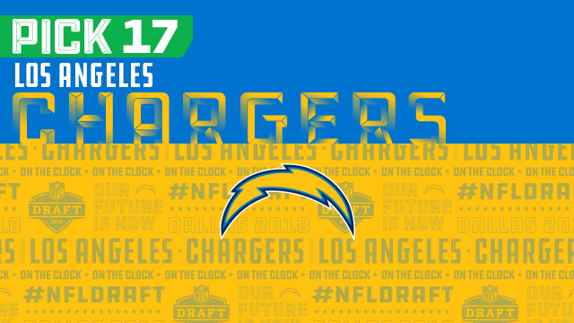 Los Angeles Chargers pick No. 17 | NFL Mock Draft Live