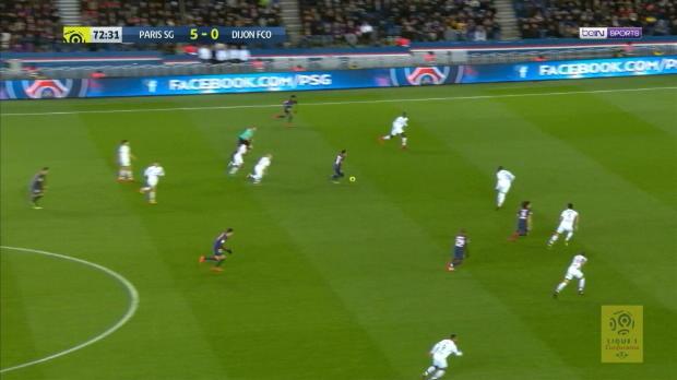 Vierfacher Neymar: PSG überrollt Dijon