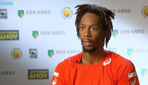Monfils Interview: ATP Rotterdam QF
