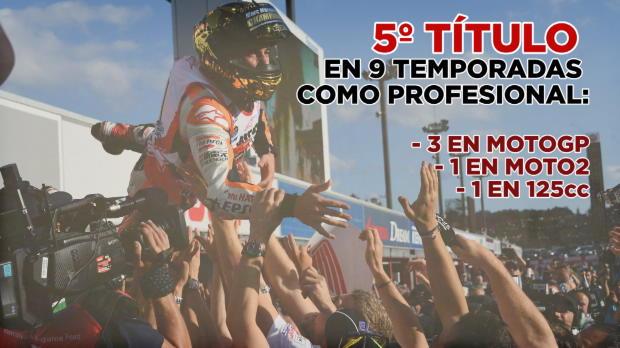 MotoGP - M�rquez, tricampe�n del mundo