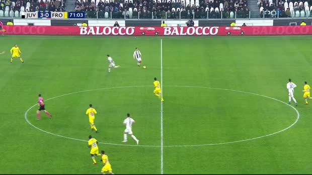 Paulo Dybala mit himmlischer Ballannahm
