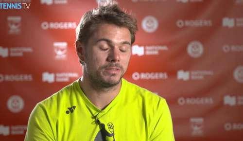 Wawrinka Interview: ATP Toronto QF