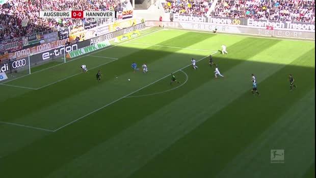 Ganz wilder Führungstreffer für Hannover   Bundesliga Highlights