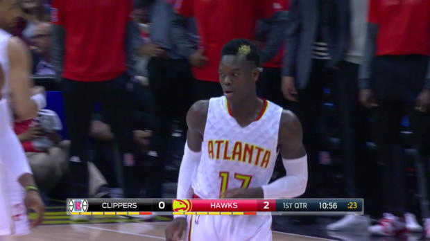 WSC. Highlights: Dennis Schroder (21 points) vs. the Clippers, 1/23/2017