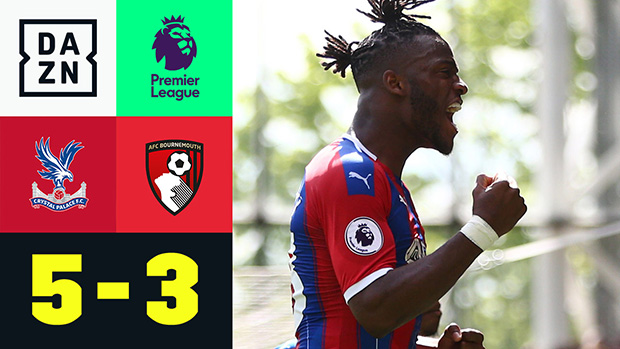 Premier League: Crystal Palace - Bournemouth | DAZN Highlights
