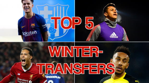 370 Millionen Euro! Die Top5-Wintertransfers