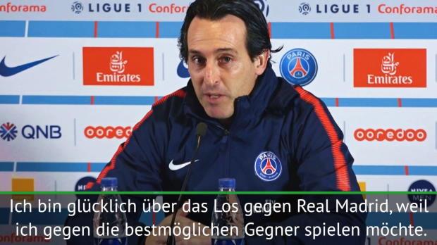 """Emery: PSG - Real """"Mittelpunkt der Fußballwelt"""""""