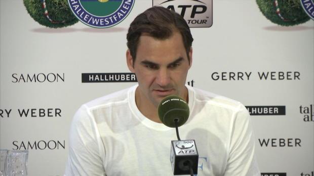 """Halle: Federer: """"Geht immer einen Tick besser"""""""