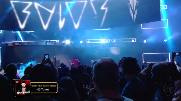 Finn Balor's entrance makes the WWE Music Power 10 (WWE Network exclusive)