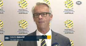 FFA CEO David Gallop has delivered a travel warning for Socceroos fans travelling to Bangladesh.